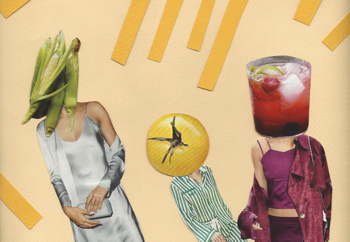Collage by Emily Zirimis via Man Repeller