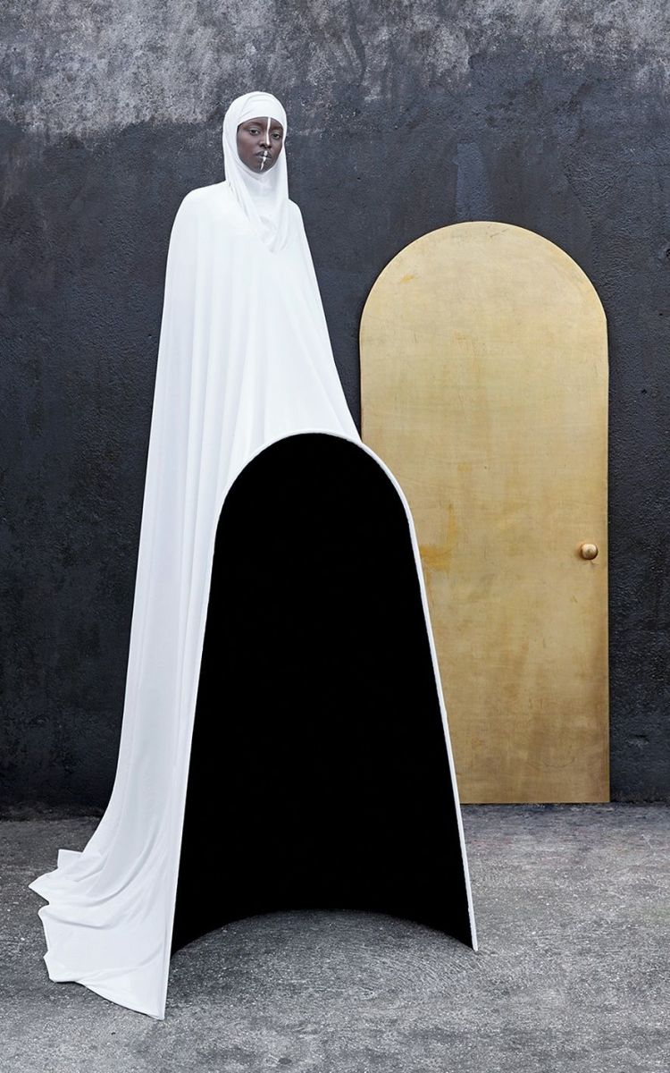 "The Door, by Maïmouna Guerresi, from the series ""Giants"", mystical images inspired by African (Senegalese / Sufi) Muslim saints"
