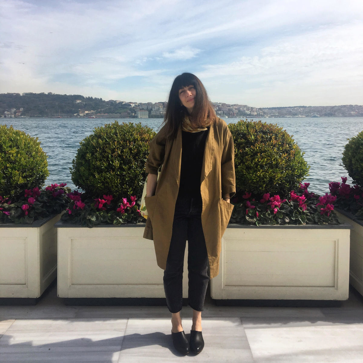 The author, Shayna Stevenson, in Instanbul.
