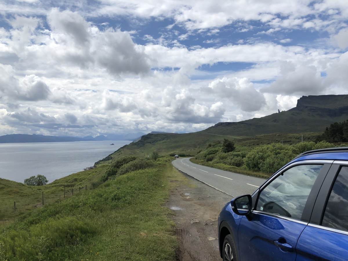 Driving on Skye
