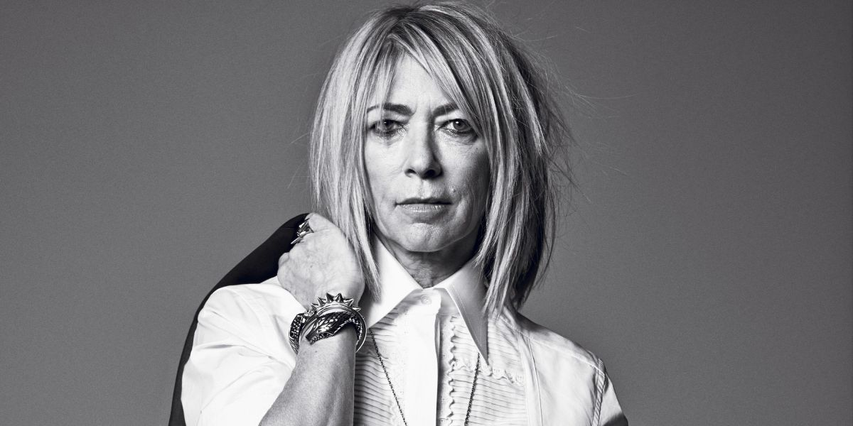 Image of Kim Gordon by Mark Abrams for Harper's Bazaar