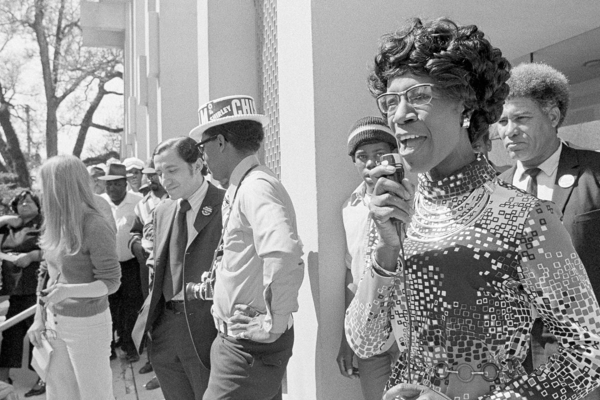 1972 was a big year: Shirley Chisholm ran a presidential campaign, and the first National Black Political Convention was held. This year, the Black National Convention is harnessing that same energy. (AP PHOTO/BILL HUDSON, FILE) via The 19th