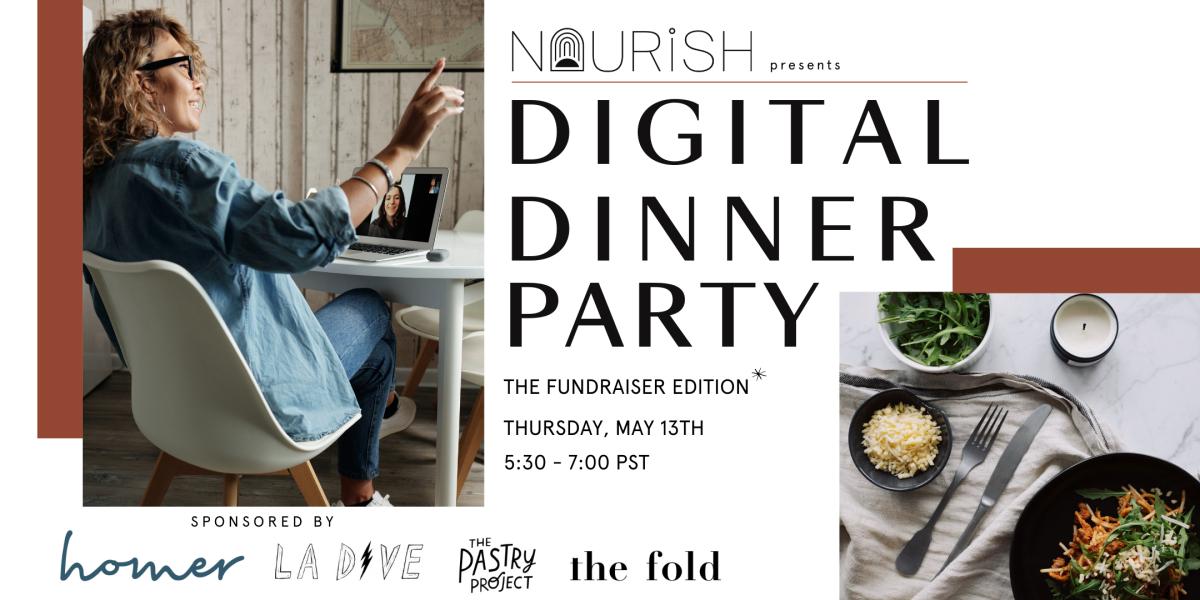 Digital Dinner Party Eventbrite Graphic